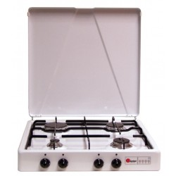 4-Burner Gas Stove Parker Brown