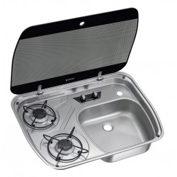 Combination Unit with Glass Lid