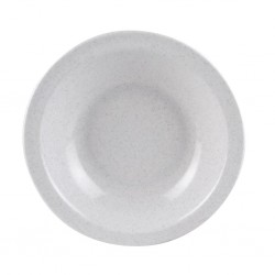 Soup Plate Granit uni