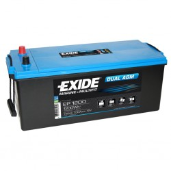 EXIDE Dual AGM 140 Battery