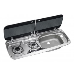 Built-In-cooker-sink-combination  HSG 2370R, Sink right-side