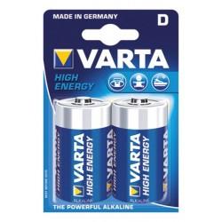 """Battery Varta """"High Energy"""" Mono LR 20 / D, 2 pcs."""