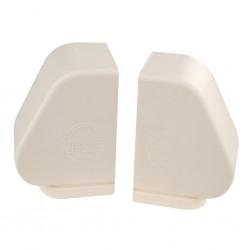 Bearing Covers (Pair) Aluminium Beige