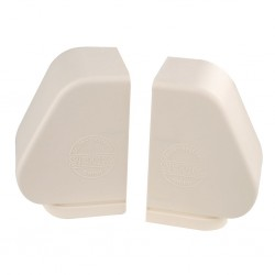Bearing Covers (Pair) Aluminium Beige