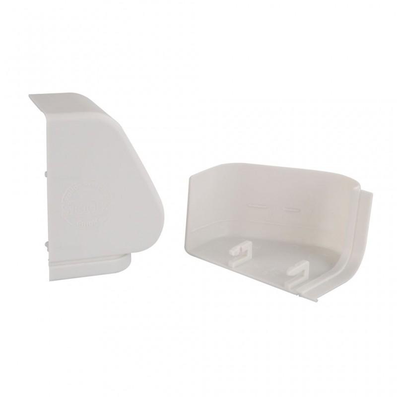 Bearing Covers (Pair) Aluminium Grey