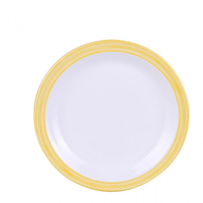Dessert Plate Yellow