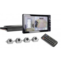 """Rear video system Perfect View CAM360 with 7""""-monitor"""
