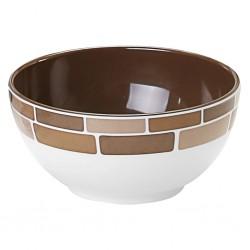 bowl 15 cm, Chocolate