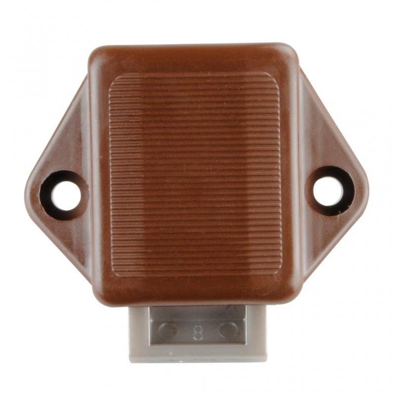 Mini Push-Lock Brown