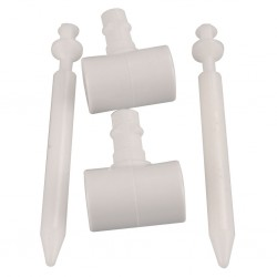 Hinge Set for Toilet Seat and Cover C2, C3, C4