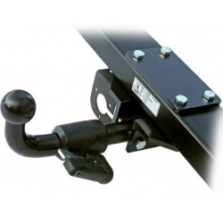 Tow Bar for ALKO-Chassis / all Types with Load-bearing Frame Extension, Removable Ball Head
