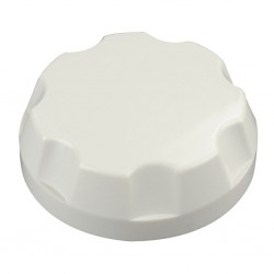 Screw Cap for Fresh Water Tank Grey White