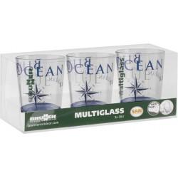 Set Multiglass Blue Ocean...
