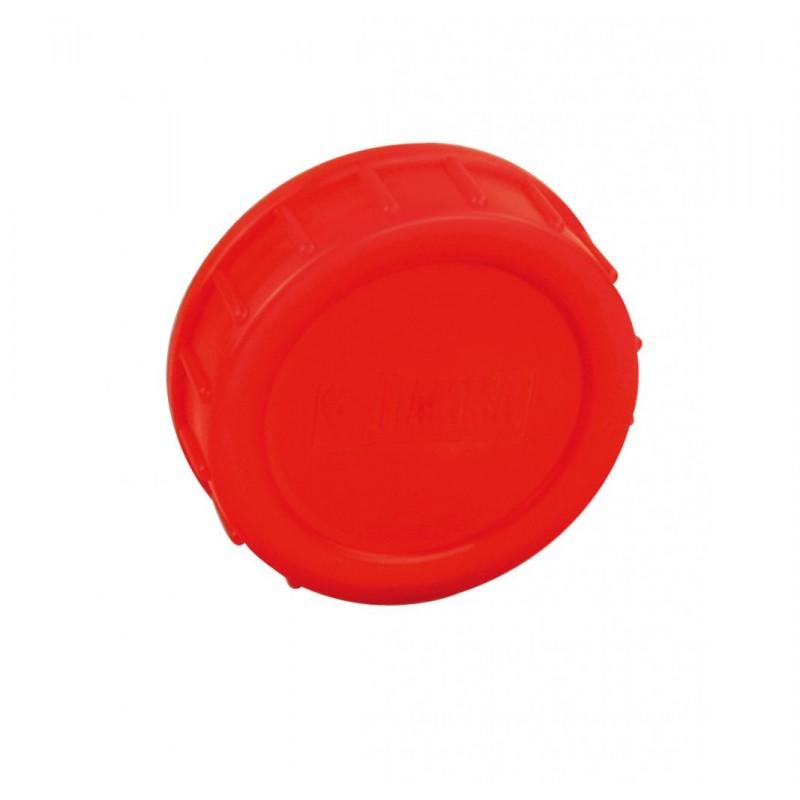 Screw Lid and Seal Red BI-POT