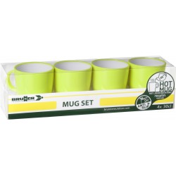 Set mugs Resylin green (4pcs)