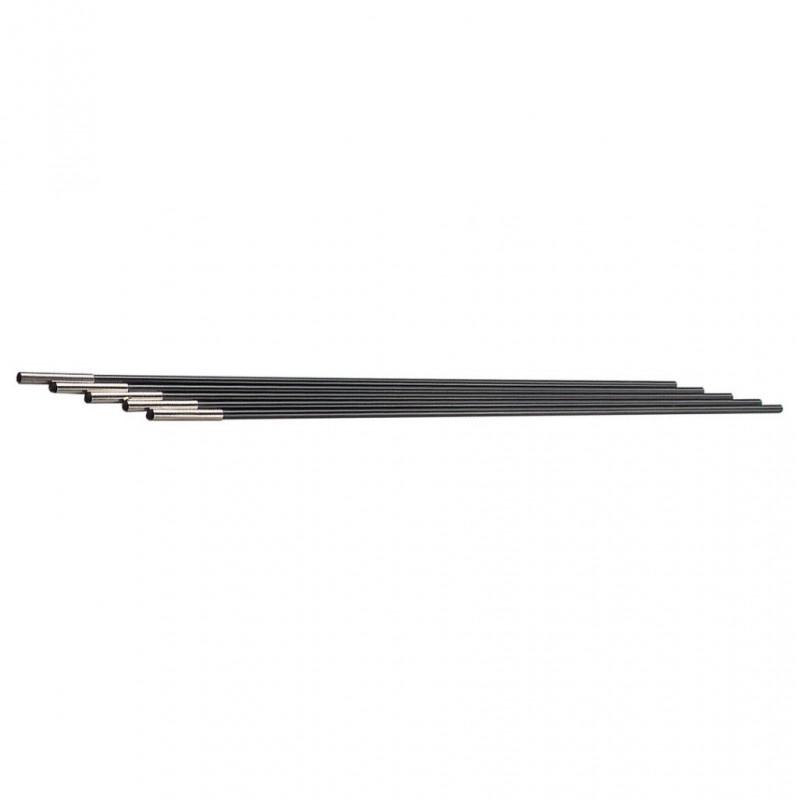 Fibreglass Poles with Pole End 8 mm
