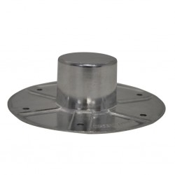Recessed Connection for Single-Table-Leg