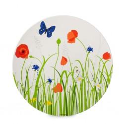 Plate Flower Meadow