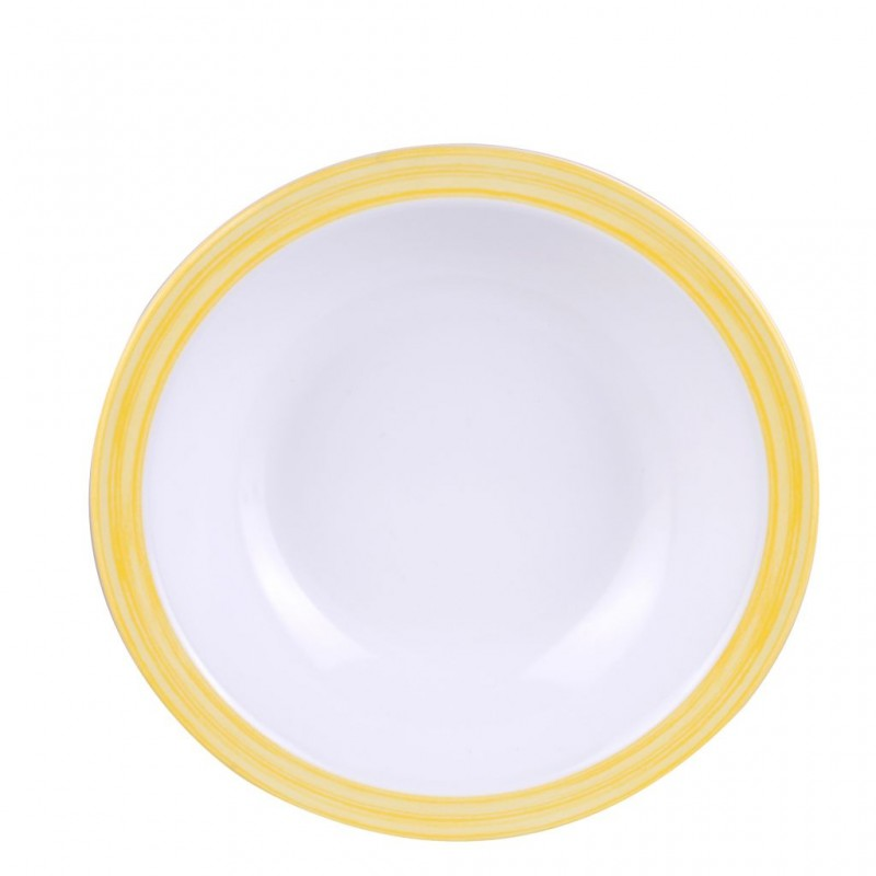 Soup Plate Yellow