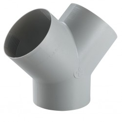 Y-Piece for Pipes 65/72 mm