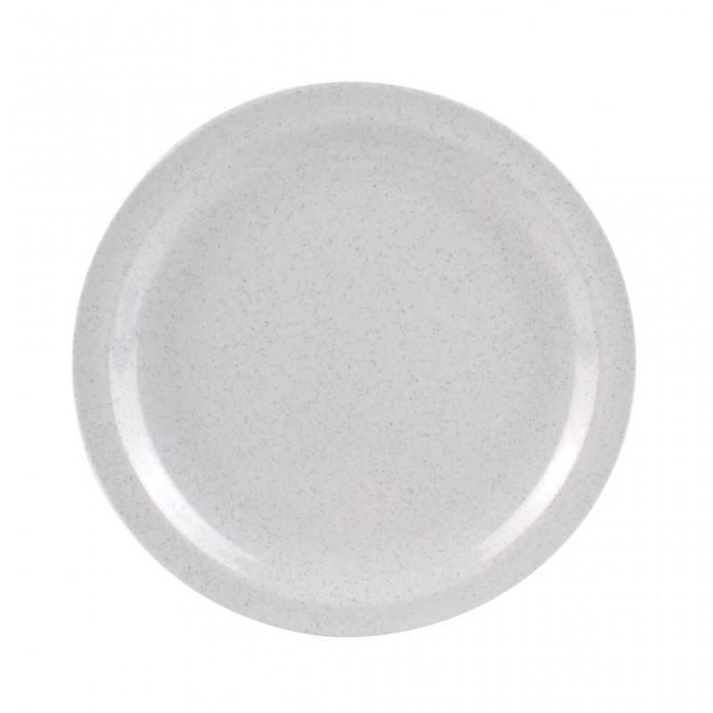 Steak Plate Granit uni