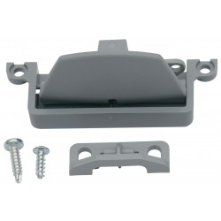 Latch incl. Lock for Thetford Refrigerators, Dark Grey, 623024-07