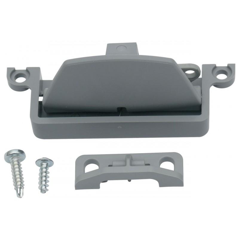 Latch incl. Lock for Thetford Refrigerators, Dark Grey, 623024-07