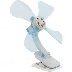 ventilator 12 V, blue