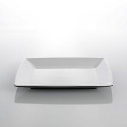 Dessert Plate Black and White