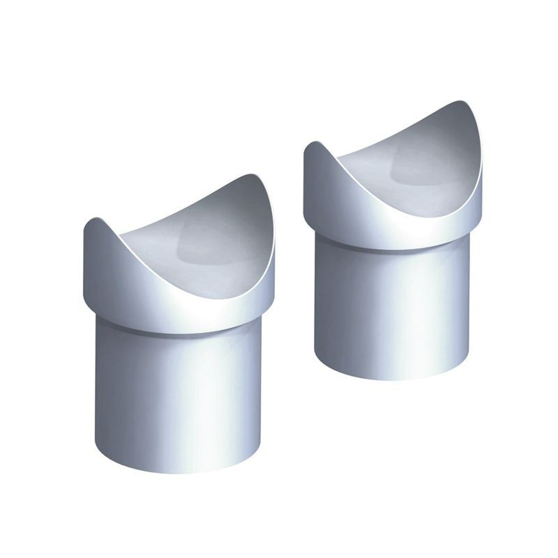 Stop Buffer Stainless Steel (2 Pieces)