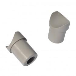 Stop Buffer Aluminium (2 Pieces)