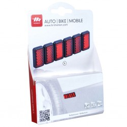 Mini Reflectors Red