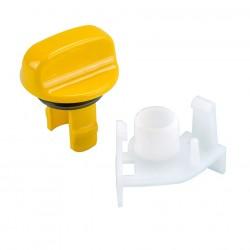 Slider Knob Yellow