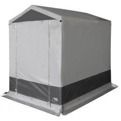 storage tent , closed