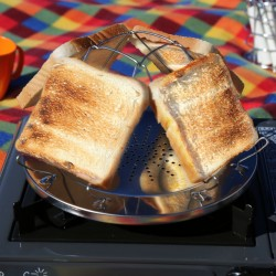 Camping Toaster Stainless Steel