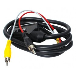 Scart-RCA Connector Cable