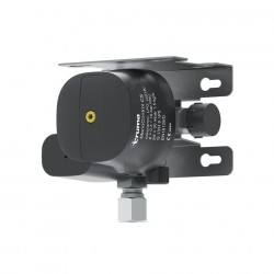 MonoControl CS – gas pressure regulator with crash sensor for one gas bottle, wall or roof installation.
