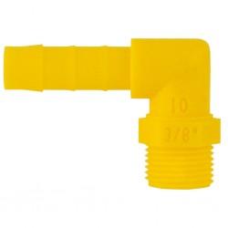 elbow barb connector