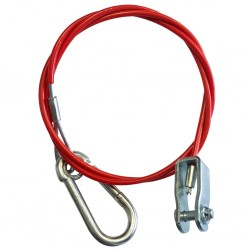 Breakaway cable with fork head