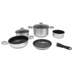 pot set, 8 pieces