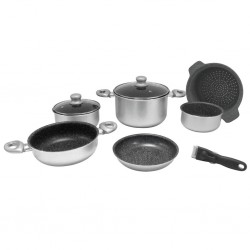 pot set, 9 pieces