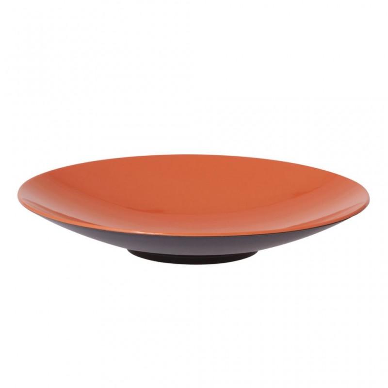 Pasta Plate Orange