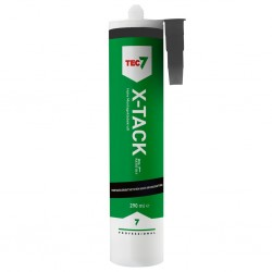 adhesive and sealant X-TACK7, black, 290 ml