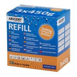 refill granules ABSODRY, 3 x 450 g