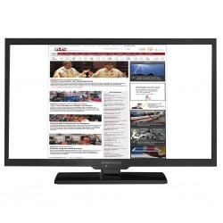 TFT LED flat screen TV/ DVD combination alphatronics SL-32 DSBI+, 12/ 230 V