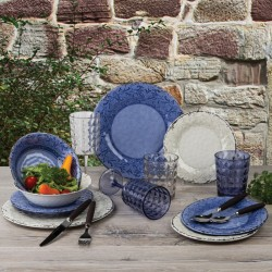 melamine tableware set Stone Line