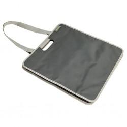 shopping bag meori, granite grey