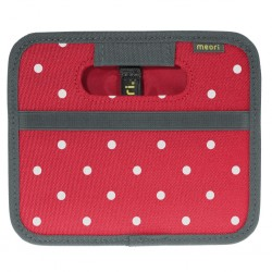 foldable box meori Mini, Hibiscus Red, Dots