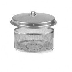 Charcoal Container with lid, without ignition plate