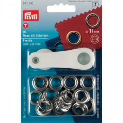 PRYM Eyelets with Slices ΓΈ 11 mm